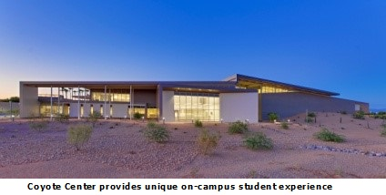 Chandler-Gilbert Community College: New Coyote Center